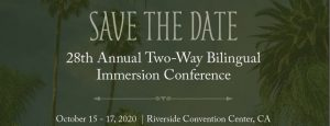 ATDLE 28th Annual Two-Way Bilingual Immersion Conference